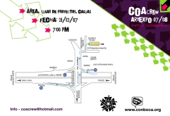 Flyer mapa COAcrew